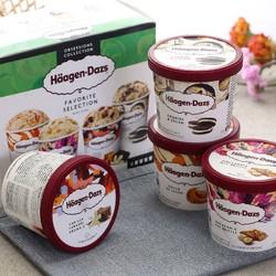 哈根达斯 冰淇淋礼盒 95ml*4杯 *2件