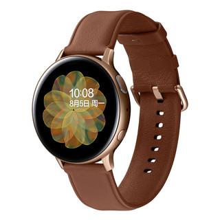 SAMSUNG 三星 Galaxy Watch Active 2 智能手表 40mm铝