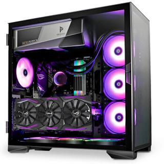 安钛克 Antec 冰钻(P120)电脑游戏机箱 中塔钢化玻璃 支持E-ATX主板/垂直显卡/双360冷排