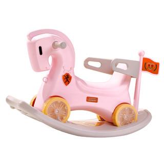 sanle 三乐 摇摇马两用车婴儿一周岁玩具大号带音乐