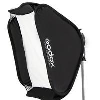 Godox 神牛 S支架60*60cm外置机顶闪光灯折叠柔光箱离机外拍摄影柔光罩外置热靴灯