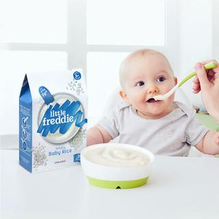 Little Freddie 小皮 有机高铁大米粉 宝宝辅食婴儿原味米糊1段 160g