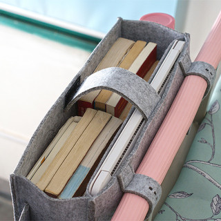 史倍思 挂篮大学生上下铺卡通毛毡收纳架框床边挂袋