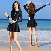 浩恋 H9600 女士长袖连体泳衣