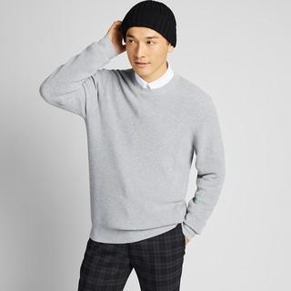 UNIQLO 优衣库 419184 男士圆领针织衫