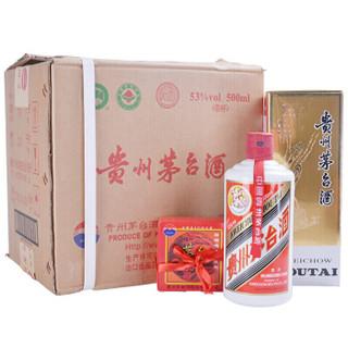 茅台 飞天 酱香型白酒 53度 500ml*6瓶 整箱装(2016年)