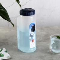 乐扣乐扣(LOCK&LOCK) 塑料杯水壶 家用大容量水杯 外出旅行伴侣1.8L HAP622B