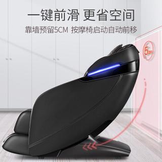 迪斯(Desleep)按摩椅家用DE-T100L贵宾咖 全身按摩椅电动3D二代机芯零重力太空豪华舱 2019新款 精品推荐