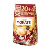 摩卡特 三合一速溶咖啡 蔗糖款 18g*24条 共432g