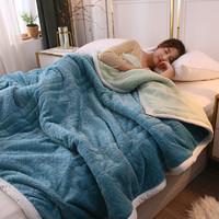 Xanlenss 轩蓝仕 三层加厚牛奶绒毯 150*200cm 3.8斤
