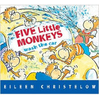 Five Little Monkeys Wash the Car 英文原版