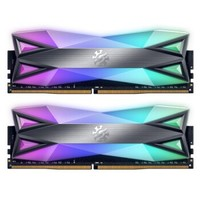 ADATA 威刚 XPG-龙耀 D60G DDR4 3200 台式机内存 32GB(16GB×2)