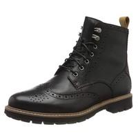 中亞Prime會員、限尺碼:Clarks Batcombe Lord 男士布洛克短靴