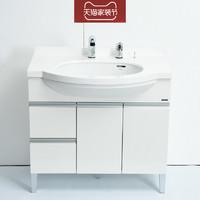 TOTO 东陶 LDKW903K 小户型洗手台储物柜