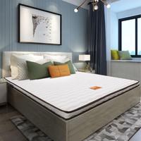 SLEEMON 喜臨門 城市愛情系列 珍珠白 偏硬護脊椰棕床墊 120*200cm