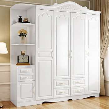 金觀 現代簡約臥室5門衣柜 帶轉角