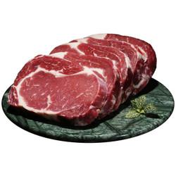美享时刻 原肉整切牛排套餐5片 进口牛肉微腌黑椒西冷菲力牛扒 生鲜 *2件
