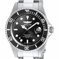 Invicta 男士 8932ob Pro Diver 黑色不锈钢手表