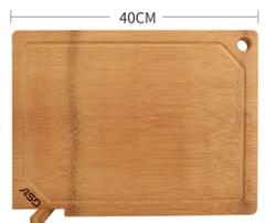 爱仕达 GJ30B1WG 长方形砧板切菜板可立砧板擀面案板实木菜板