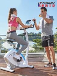 美国汉臣HARISON 动感单车家用款静音室内运动健身车Monica B5