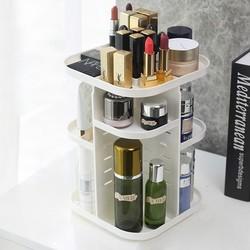 Clean Art 可丽纳特 旋转化妆品收纳盒 标准白色款
