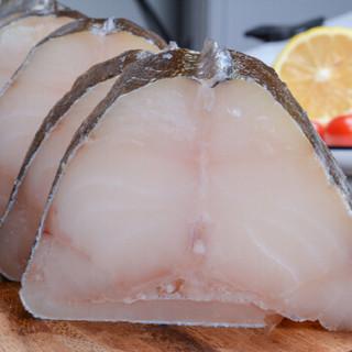 禧美 大西洋真鳕鱼整条圆切段 去头去脏(MSC认证)1.2kg 盒装 独立包装