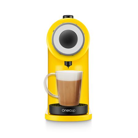 61预售 : Joyoung 九阳 KD08-K1Y 胶囊咖啡机 (小黄人IP款)