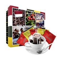极睿 手冲滤泡式滤挂咖啡 进口咖啡豆现磨黑咖啡粉 精品挂耳咖啡共60袋