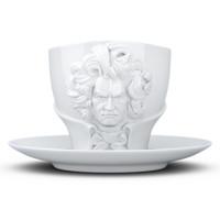 德國TASSEN陶瓷卡通表情碗藝術咖啡杯咖啡碗260ml