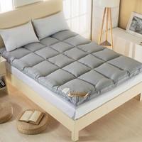 Xanlenss 轩蓝仕 纯色加厚羽丝绒床垫 90*200cm 6.5斤