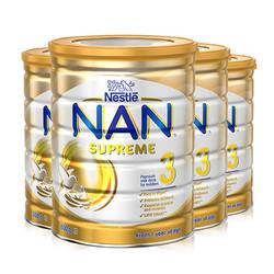 雀巢能恩NAN PRO HA适度水解蛋白婴儿奶粉3段800g4罐装