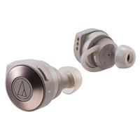 audio-technica 铁三角 蓝牙运动真无线耳机 (灰色)