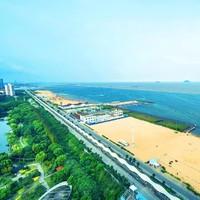 直面大海、咫尺沙滩!上海金山滨海铂骊酒店1晚+早餐+晚餐