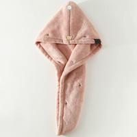 卡伴 干发帽 藕粉(20*60cm)