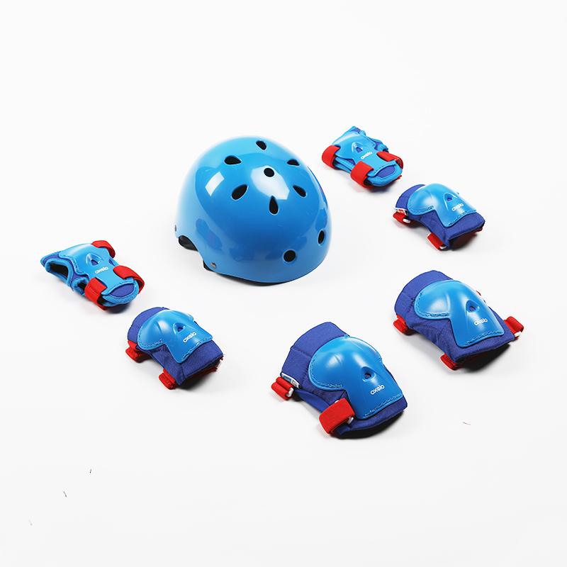 DECATHLON 迪卡侬 儿童头盔轮滑护具女童男童套装滑板车宝宝专业防护护膝IVS3