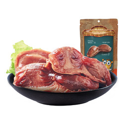 来伊份卤味/香辣鸭肫130g熟食真空鸭胗零食小吃休闲食品来一份
