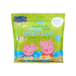 小猪佩奇 钙铁锌宝宝营养强化发酵面条  240g *16件