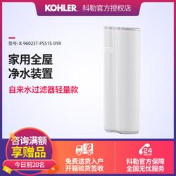 科勒(KOHLER)软水机 家用全屋净水装置自来水过滤器轻量超量款96025 —— 96025T-PS515-01R轻量款