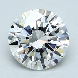 Blue Nile 2.01克拉 圆形切割钻石(切工VG,成色E,净度VS1)