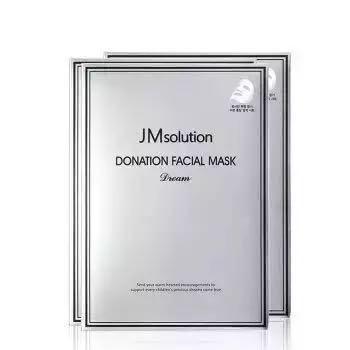 JMsolution 慈善面膜银色希望款 10片