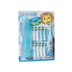 minimum 咪呢妈咪 儿童电动牙刷+8替换头 蓝色(新老包装随机发货) *2件