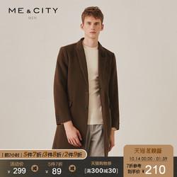 ME&CITY 539273 男装西装大衣外套