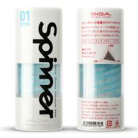 TENGA 日本进口 SPINNER旋吸式 男用反复使用飞机杯自慰器 情趣用品 柔软龙骨型 *2件
