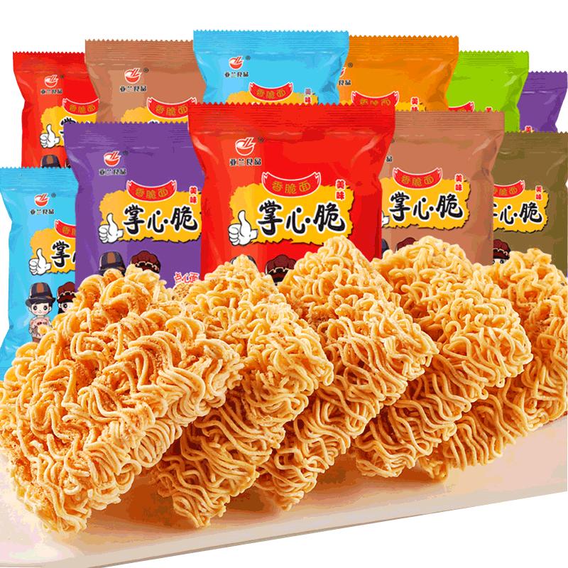 亚兰食品 掌心脆香脆面 10包 *3件