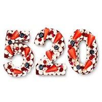 贝思客 520新鲜水果蛋糕 1.2磅