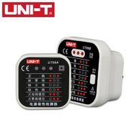 优利德UT09A/09B插座检测仪地线零线火线插头极性验电器相位检测