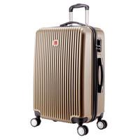 SVVISSGEM 20英寸万向轮拉杆箱登机箱 商务出差时尚行李箱 休闲旅游旅行箱 SA-6220金色