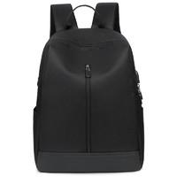 通勤双肩包男背包双肩包休闲商务出差时尚潮流简约电脑包双肩背包