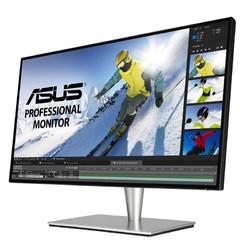 ASUS/华硕32英寸4K显示器PA32UC台式电脑窄边IPS高清游戏办公HDR全色域专业设计摄影绘图旋转壁挂液晶
