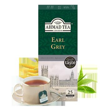 AHMAD 亚曼 格雷伯爵红茶茶包 2g*25袋